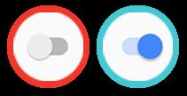 Botón para activar y desactivar el Voz LTE