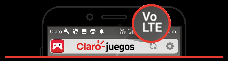 Smartphone elegibles para Voz LTE Claro